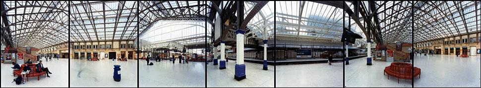 Aberdeen Station, Scotland, 1999
