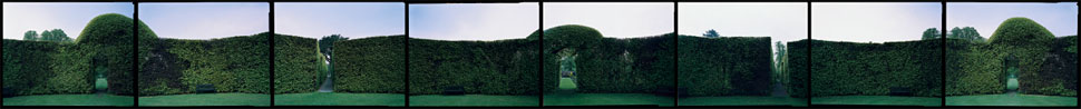 Beech Circle, Levens Hall, Cumbria, England, 1997