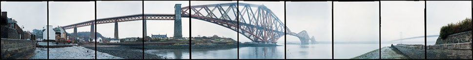 Forth Bridge, North Queensferry, Scotland, 2002