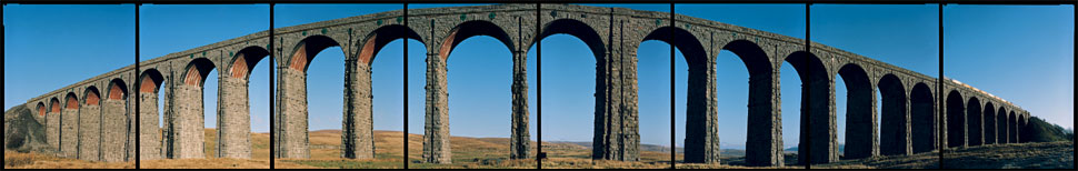 Ribblehead Viaduct, Facing East, Yorkshire 1999