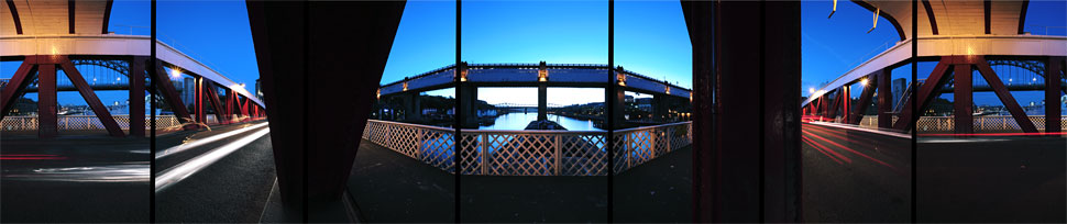 Swing Bridge, Newcastle-upon-Tyne, England, 2005